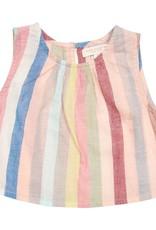 Pink Chicken theodore top- vintage stripe