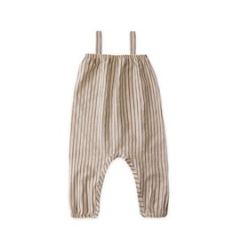 Go Gently Nation farmgirl jumpsuit- fennel stripe