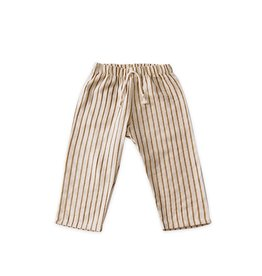 Go Gently Nation lawn pant- fennel stripe