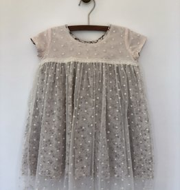Vignette stella dress- cloud