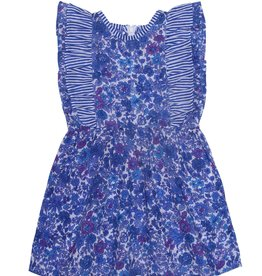 Coco and Ginger baby viola dress- blue aster