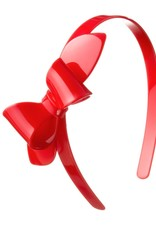 Lilies & Roses HB big bow- red