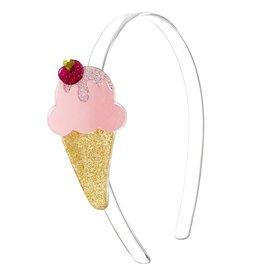 Lilies & Roses HB ice cream cone