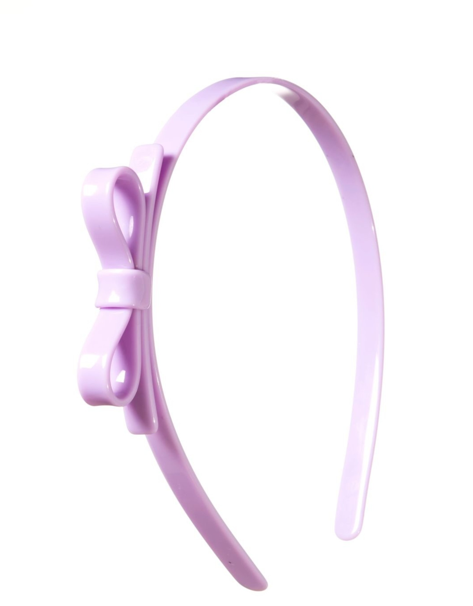 Lilies & Roses HB thin bow- lavender