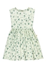 Red Caribou cacti dress- green lilly