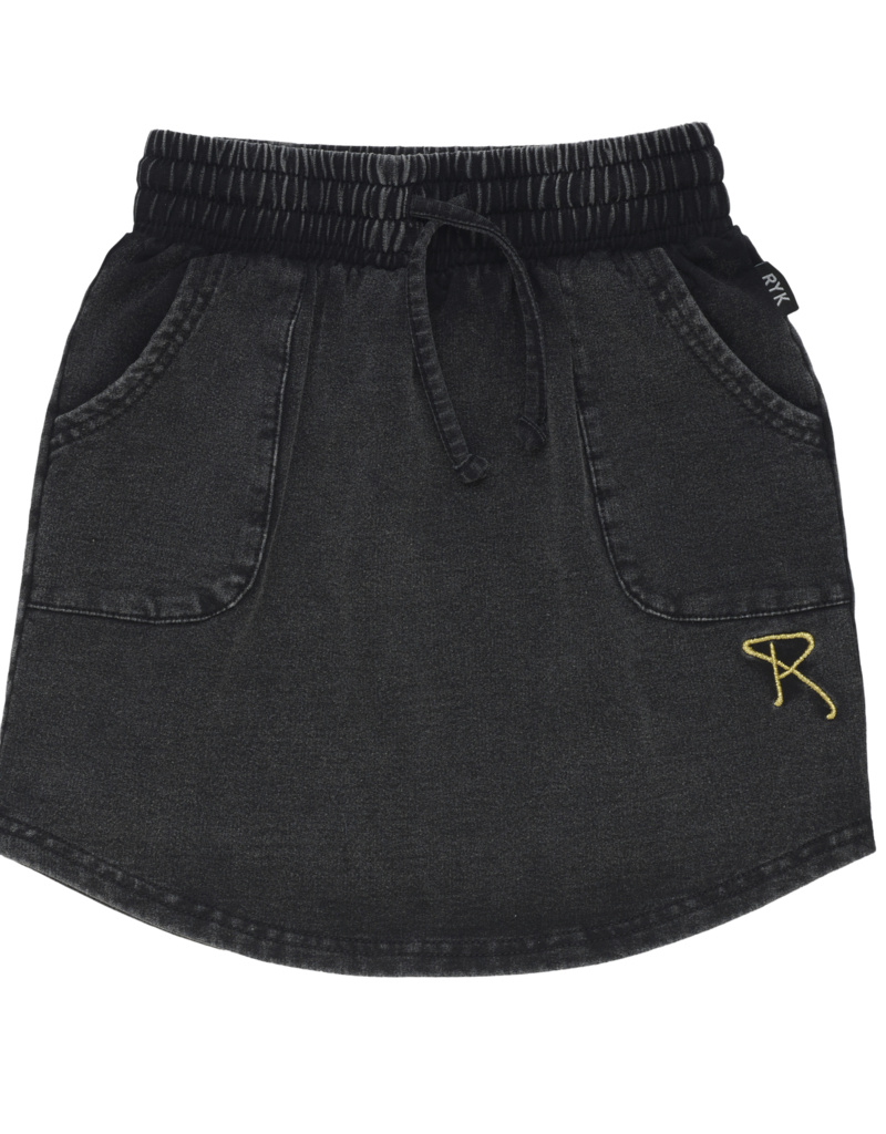 Rock Your Baby quatro skirt- black