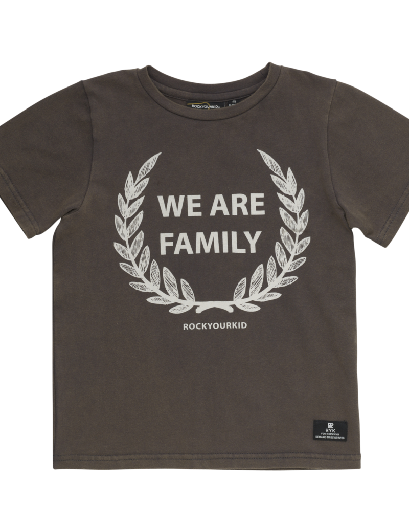 Rock Your Baby we are family tee