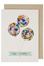 Meri Meri Balloons Confetti Shaker Card