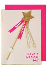 Meri Meri Magic Wand Birthday Card