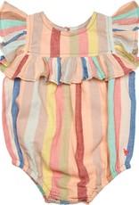 Pink Chicken quinn- vintage stripe