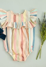 Pink Chicken quinn- vintage stripe