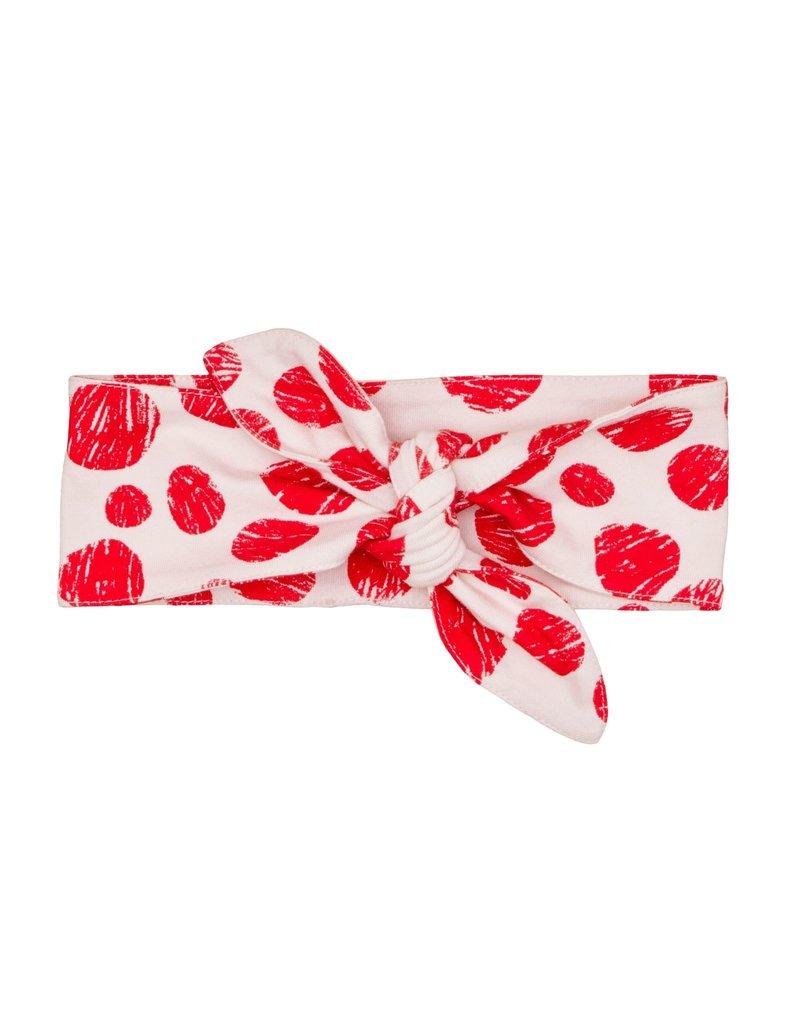 Noé & Zoë headband- red dots