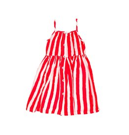 Noé & Zoë sun dress- red stripes