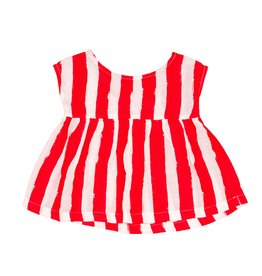 Noé & Zoë baby tunic- red stripe