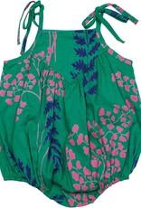 Pink Chicken monroe bubble- green fern