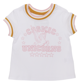 Tiny Whales cosmic unicorns tee