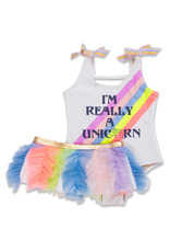 Shade Critters unicorn rainbow w/ tutu