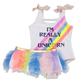 Shade Critters unicorn rainbow w/ tutu