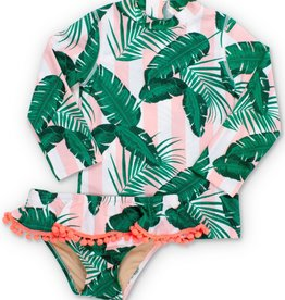 Shade Critters botanical rashguard set