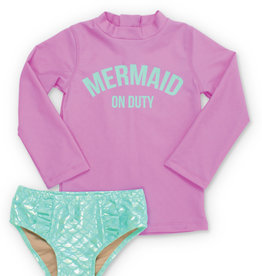 Shade Critters mermaid rashguard set