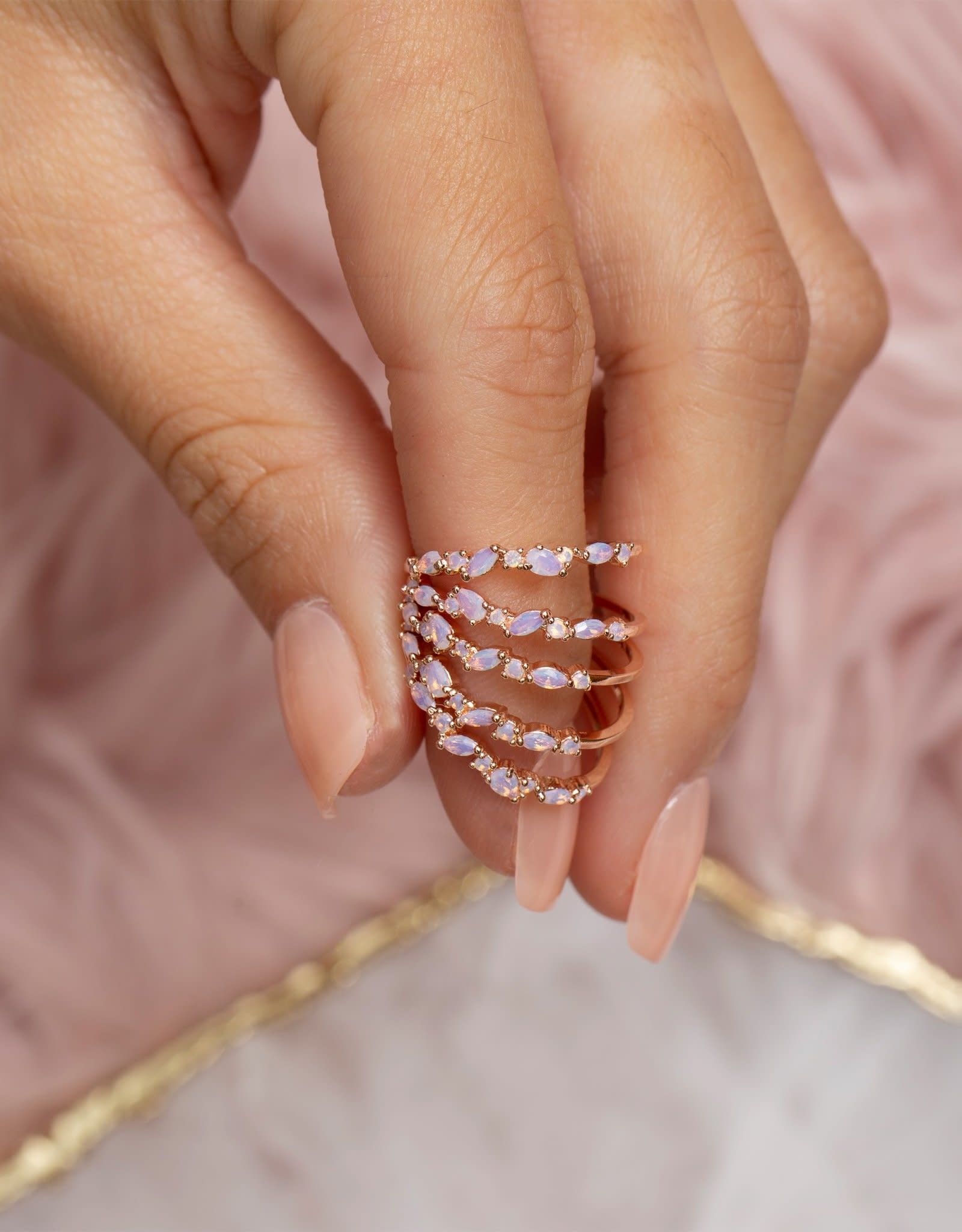 Girls Crew lily ring