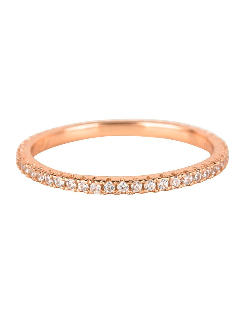 Girls Crew clear stacking ring