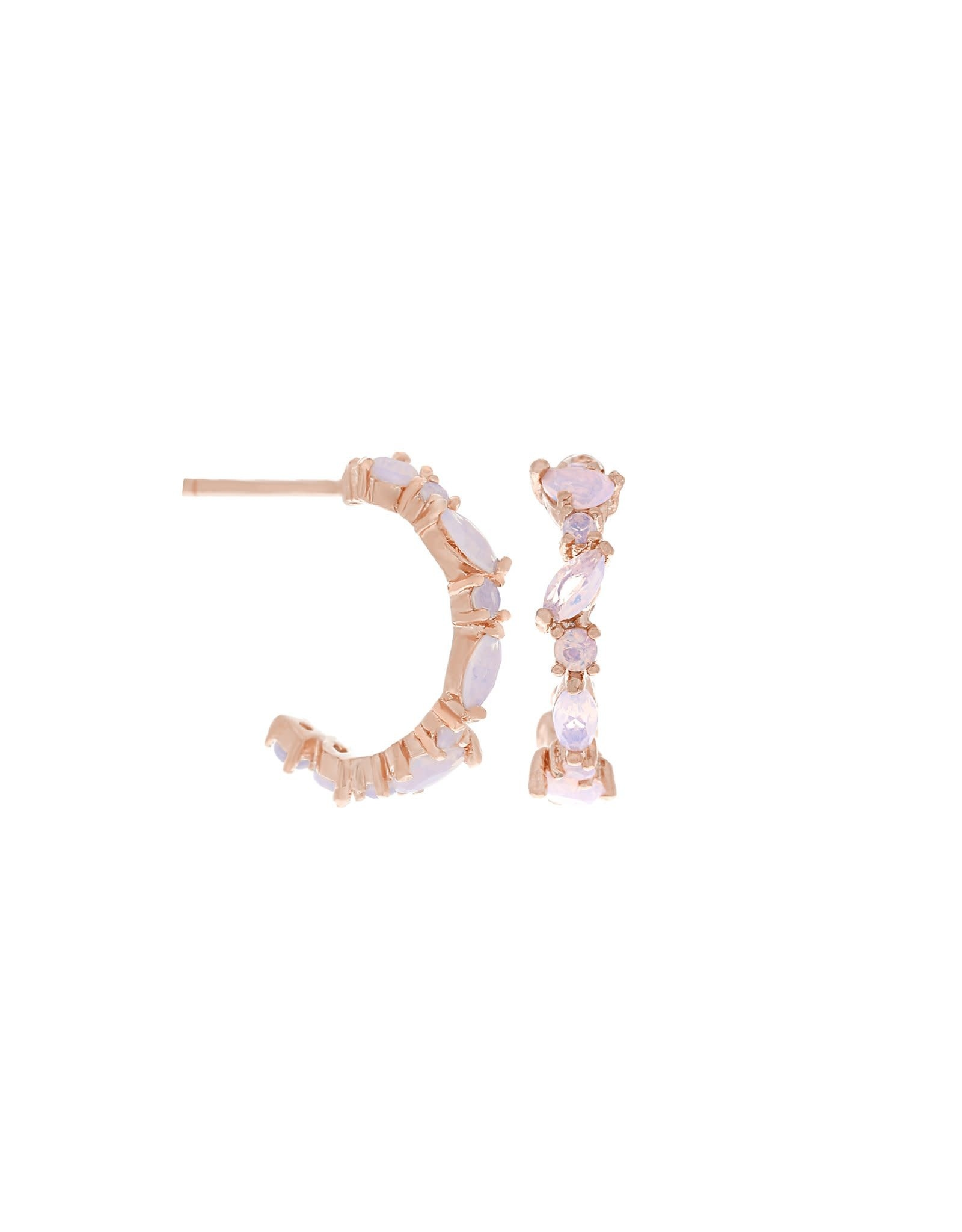 Girls Crew mini lily hoops