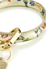Big O Key Ring gold rush floral