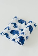 Little Unicorn cotton muslin swaddle- indie elephant