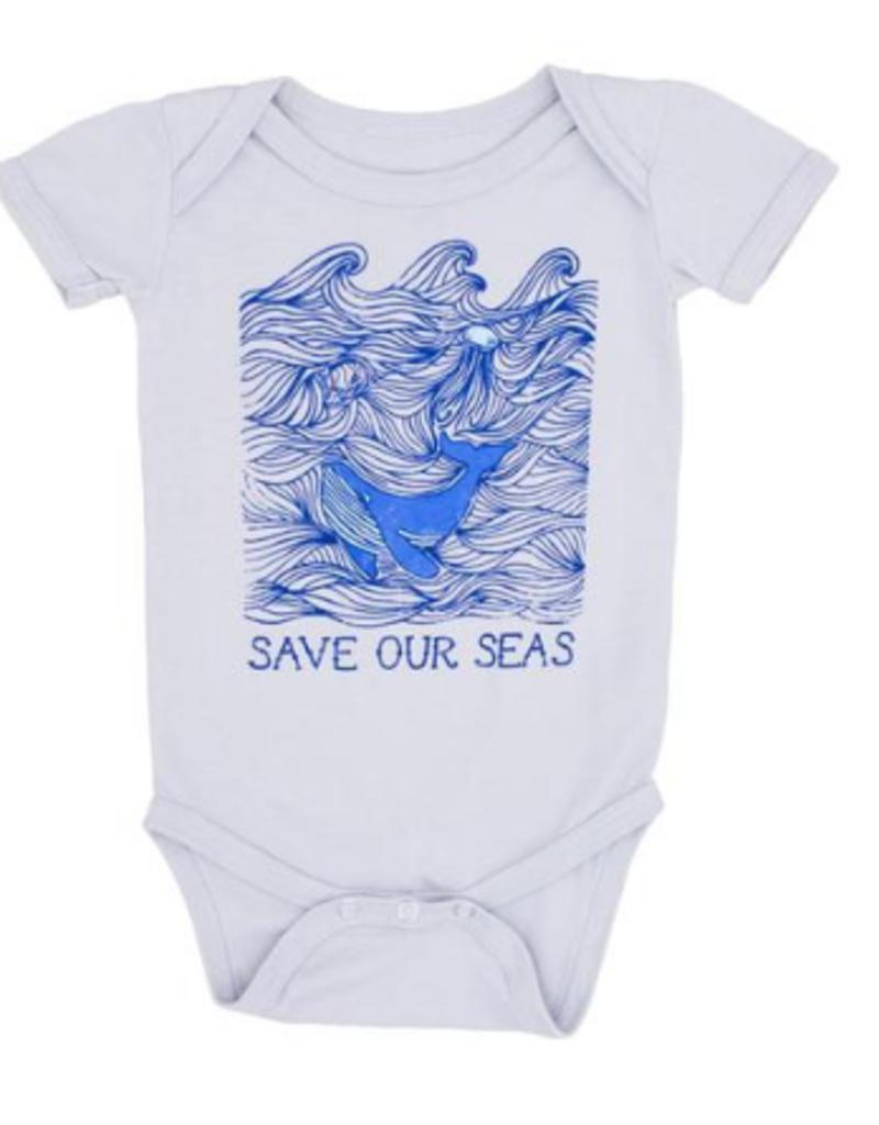 Feather 4 Arrow save our seas onesie