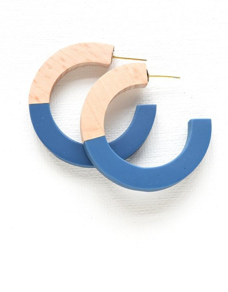 Ink + Alloy resin hoops- wood and marine
