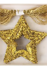 Meri Meri gold starry garland