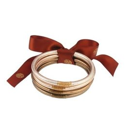 BuDhaGirl bangles (set of 4)- fawn