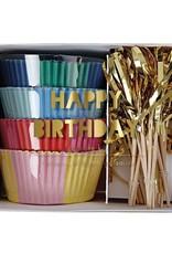 Meri Meri happy birthday cupcake kit