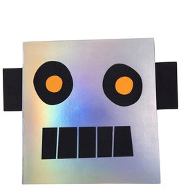 Meri Meri robot stickers & sketch book