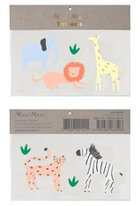 Meri Meri safari animal tattoos