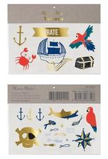 Meri Meri pirates bounty tattoos