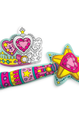OOLY 3D colorables- dress up wand & tiara