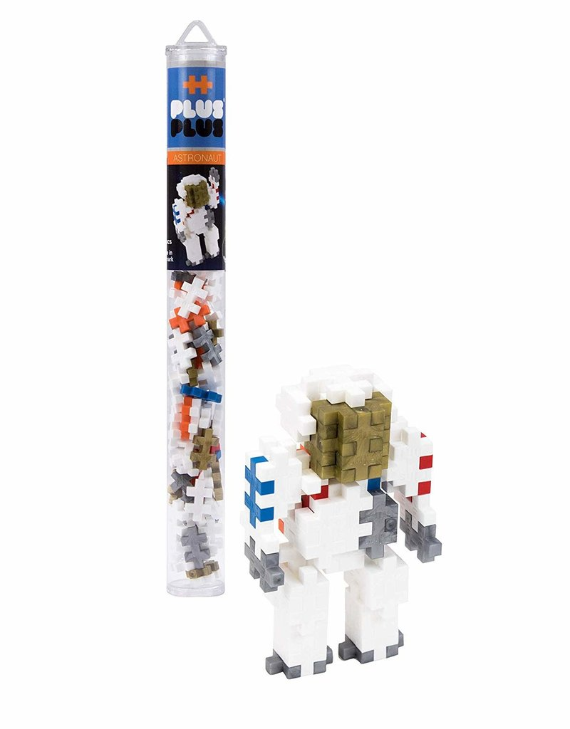 Plus Plus mini maker astronaut tube