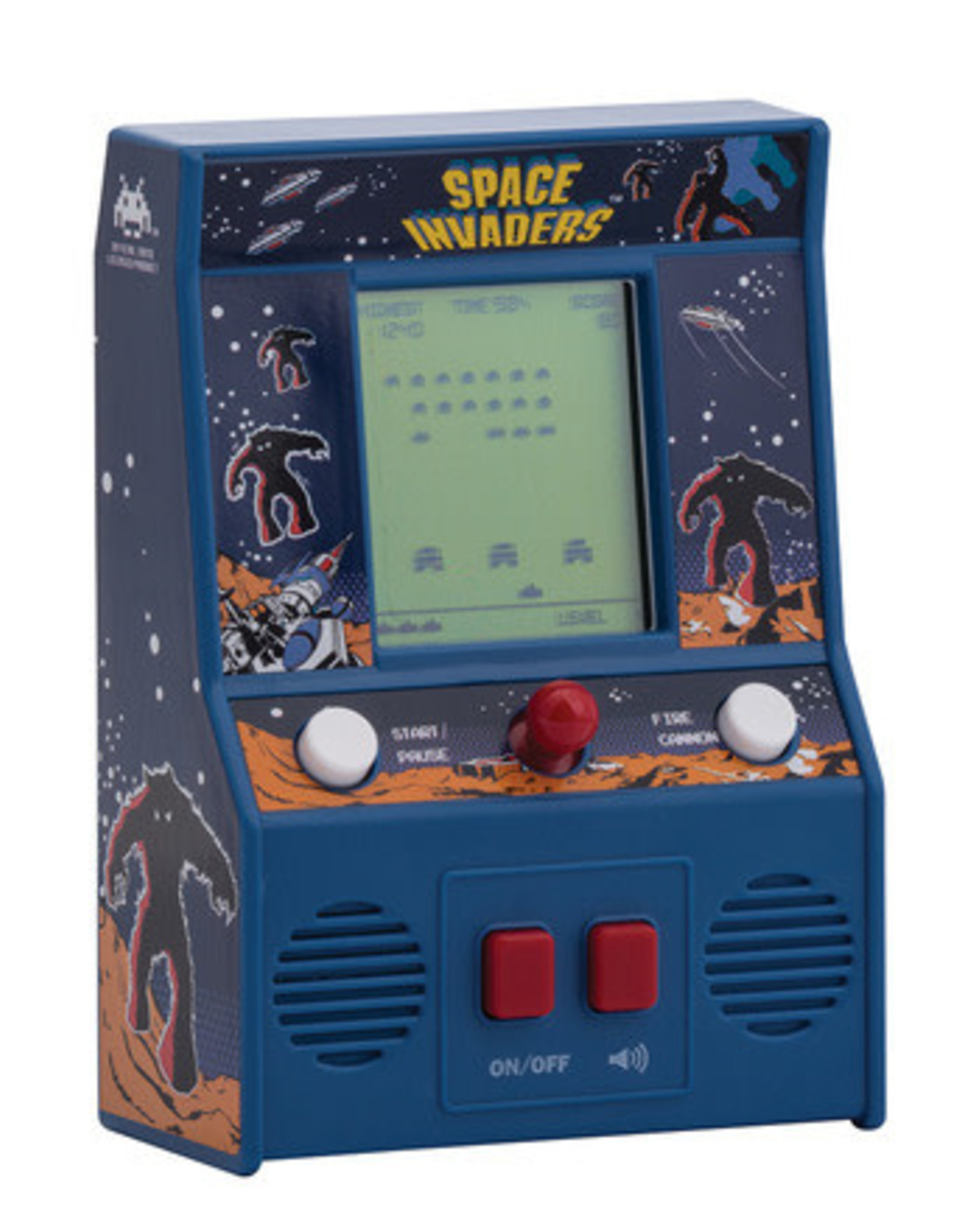 Schylling space invaders mini arcade game