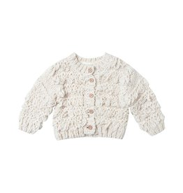 Rylee and Cru baby fringe cardigan