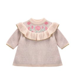 Louise Misha baby sechura dress- cream