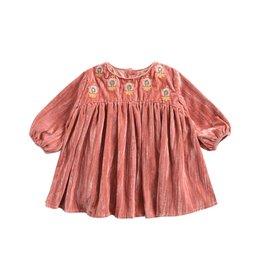 Louise Misha baby chachani dress- rusty