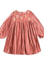 Louise Misha chachani dress- rusty