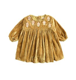 Louise Misha baby chachani dress- honey