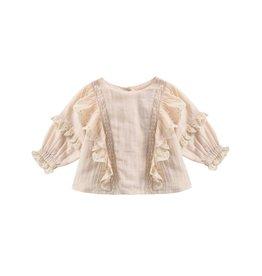 Louise Misha baby tubi blouse- cream