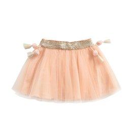 Louise Misha baby minyi skirt- blush