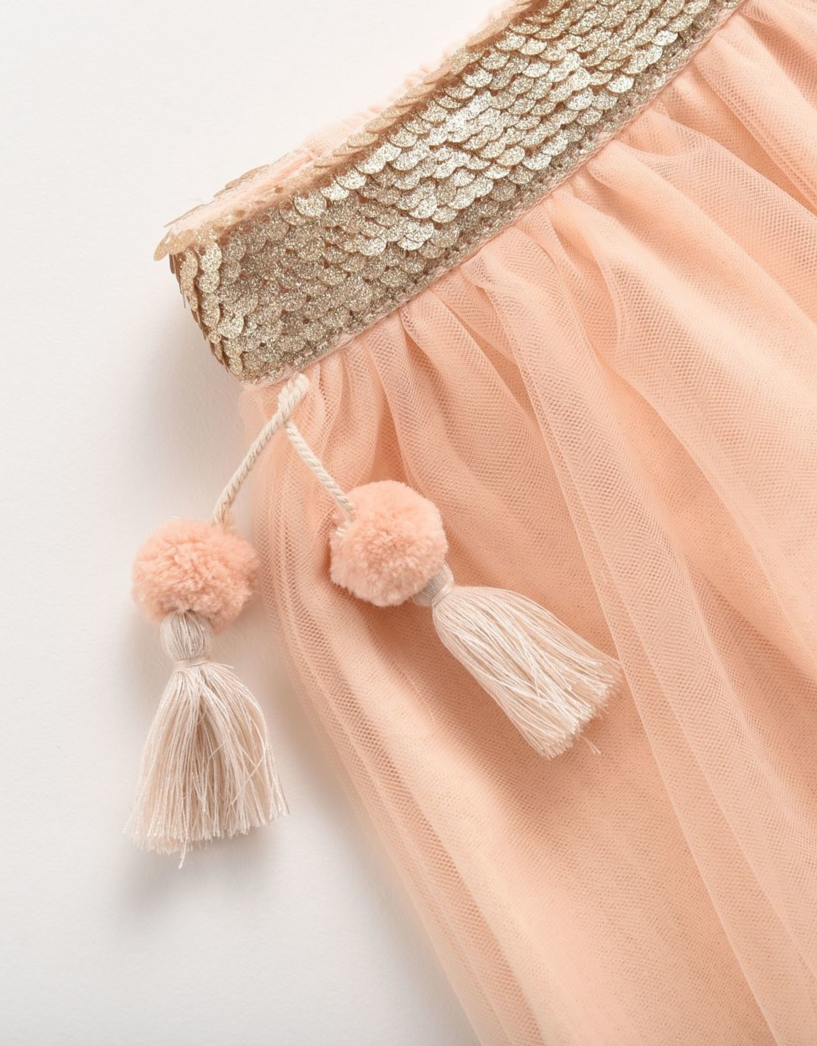 Louise Misha minyi skirt- blush