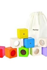 Plan Toys activity blocks set