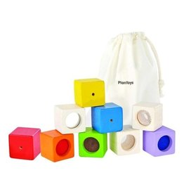 Plan Toys activity blocks set